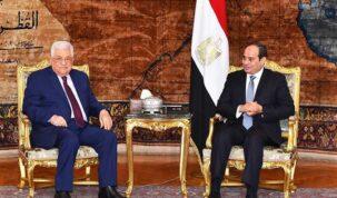 السيسي ومحمود عباس